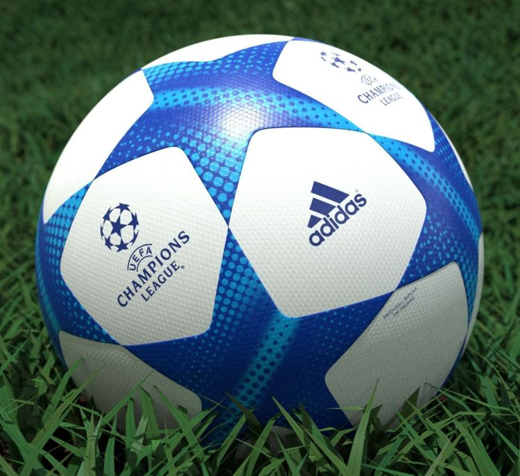 Adidas UEFA Champions League Soccer Ball 3D model