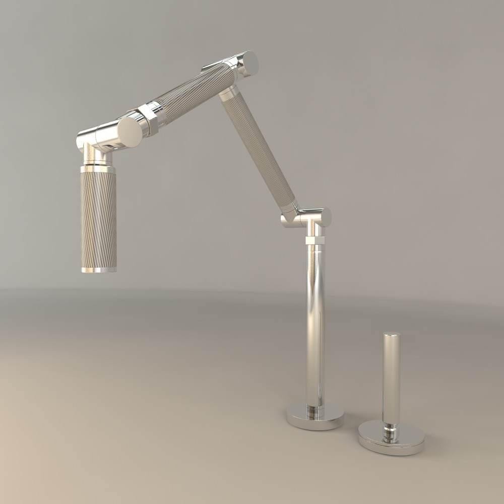 kohler karbon kitchen sink faucet 3d model