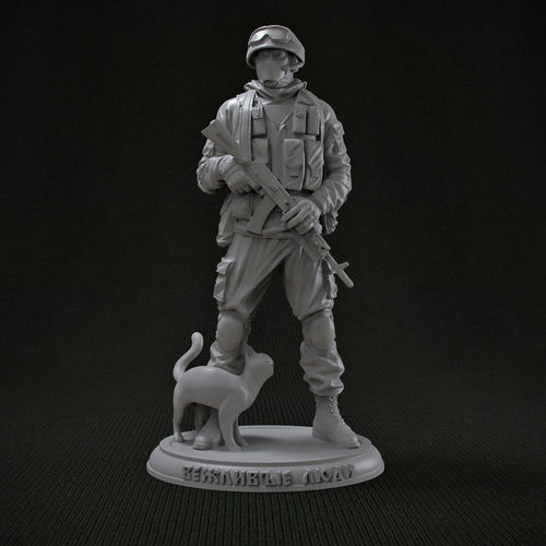 Polite People 3D Print Model CGTrader