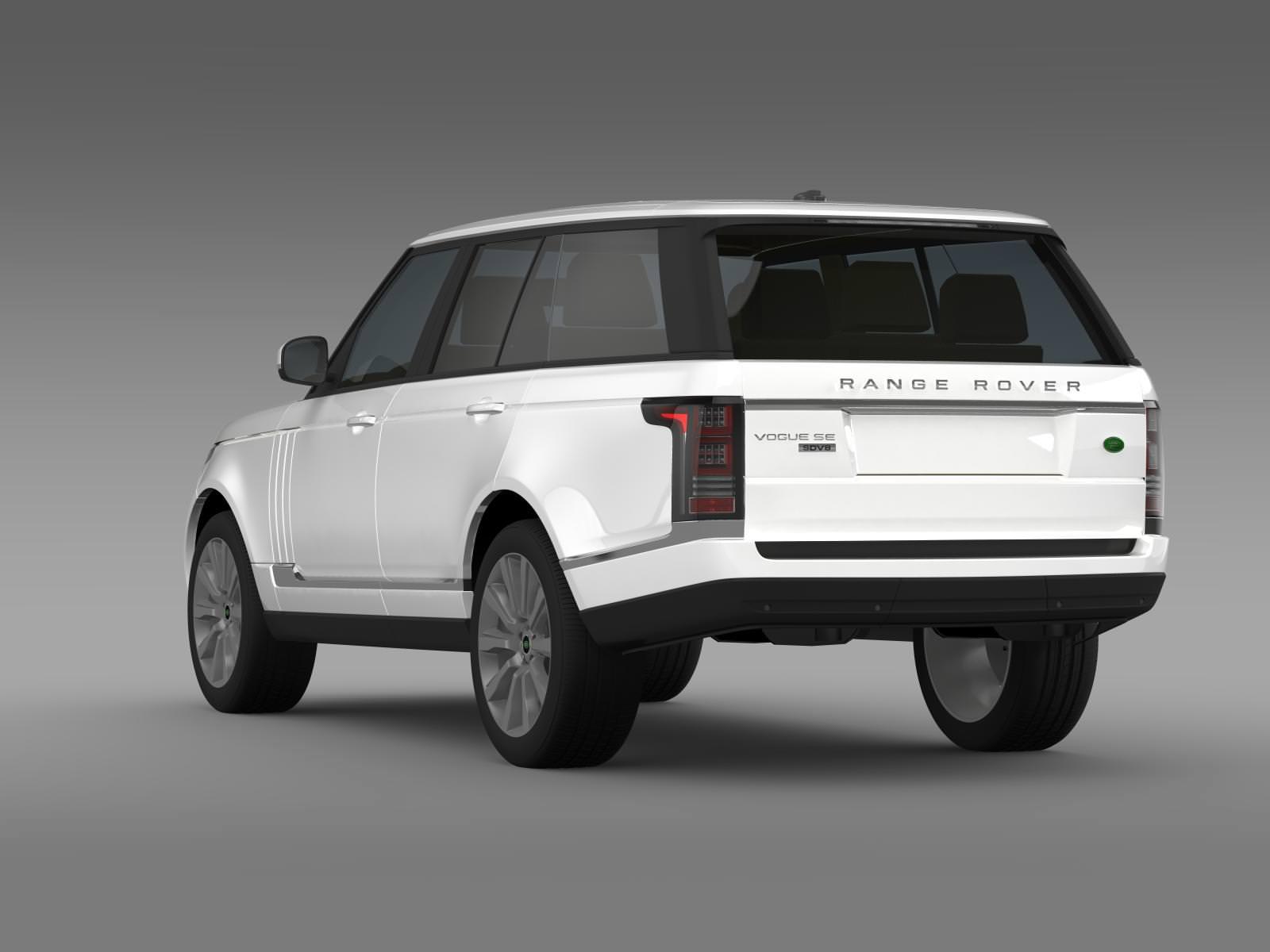 Range Rover Vogue SE SDV8 L405 3D