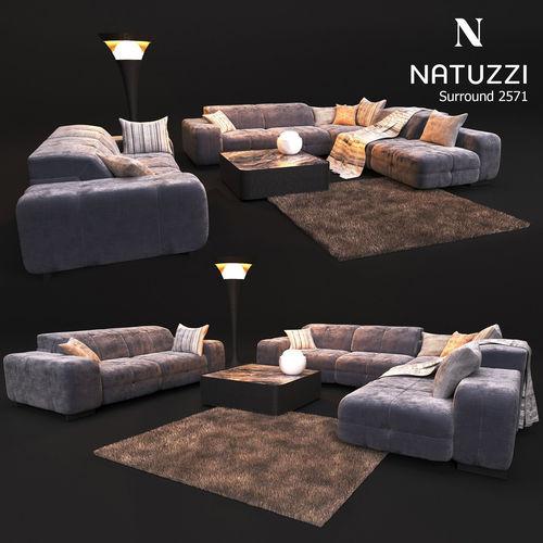 Sofa Natuzzi Surround 2571 Model