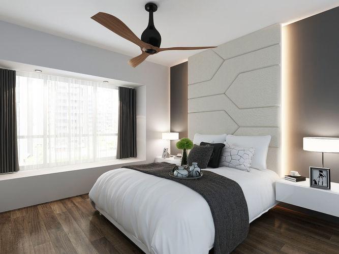 Masterbed Master Bedroom 3D Model CGTrader