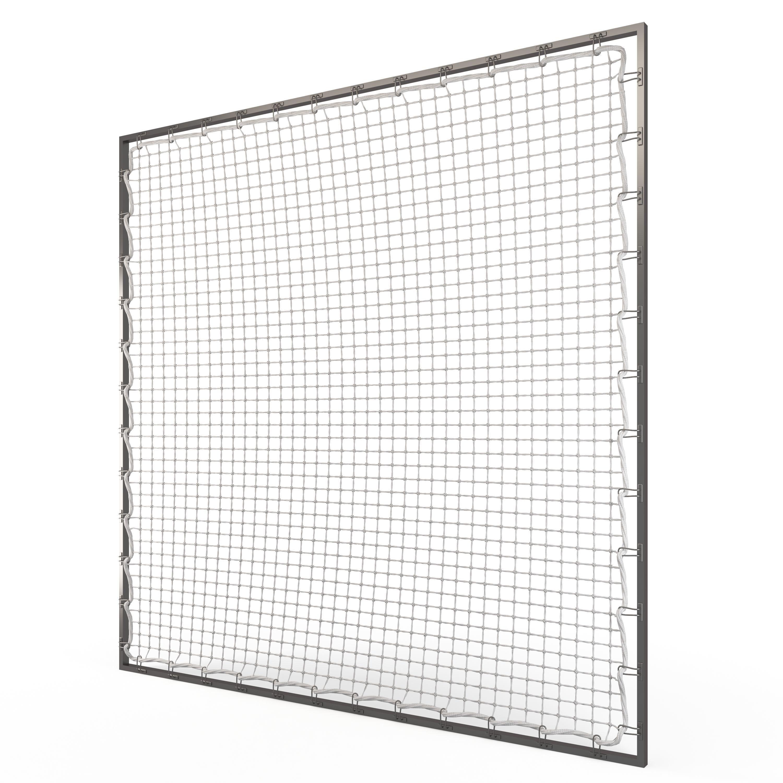 Suspended Net Rope 3d Model