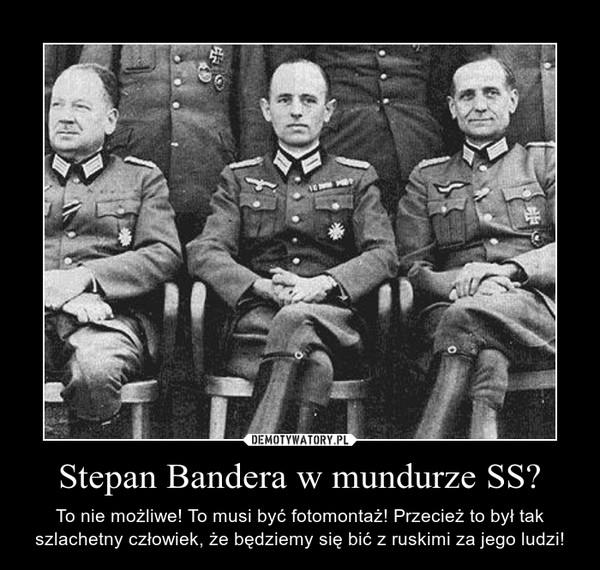 Znalezione obrazy dla zapytania antypolski Bandera