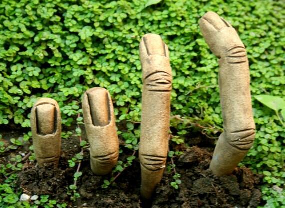Zombie Garden Fingers