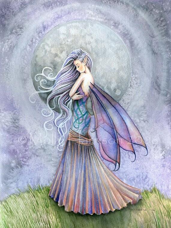 Fairy Fantasy Fine Art Giclee Print By Molly Harrison