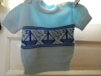 nautical baby outfit