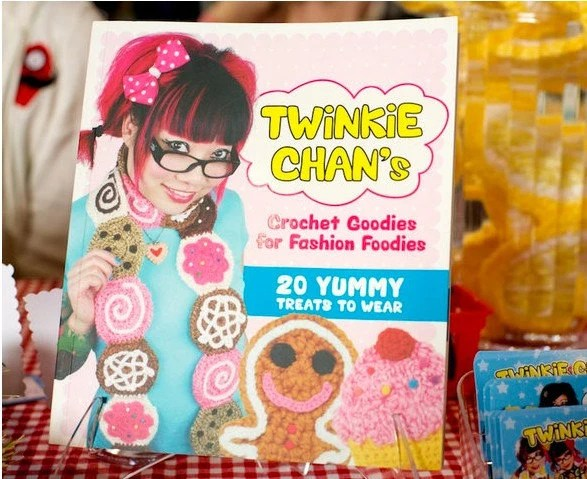 DISCOUNTED Twinkie Chan's Crochet Goodies for Fashion Foodies book of patterns by TwinkieChan