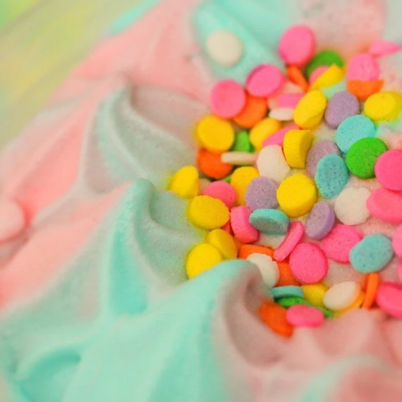 Cotton Candy Dream Cream - Fine-Art Ice-Cream Print - 8x8 - stoopidgerl