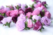 34 Mini Roses in Shades of Purple and Pink - BEST SELLER - simplyserra