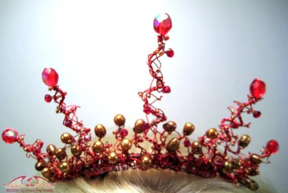 Fire Fairy Tiara