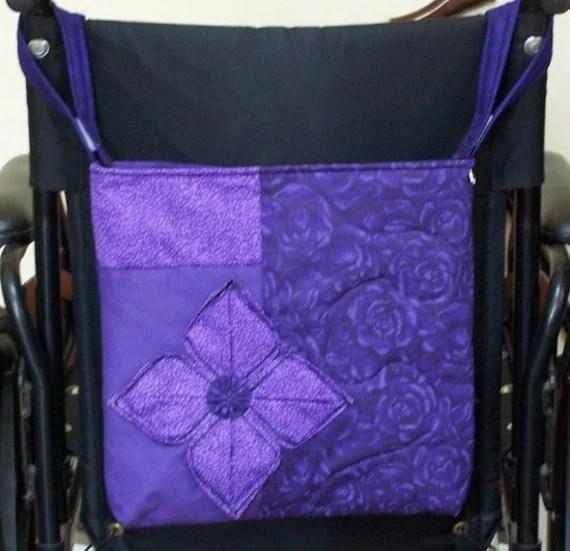 Wheelchair Accessories Wheelchair Tote Bag By JadeRoseBoutique