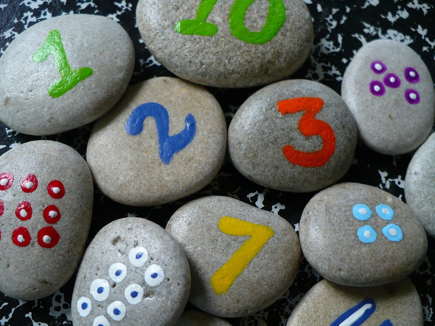 Counting Rocks Fun Childrens Math Game Holiday T Guide