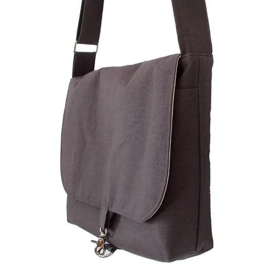 17 inch Laptop Bag for Men - Gray