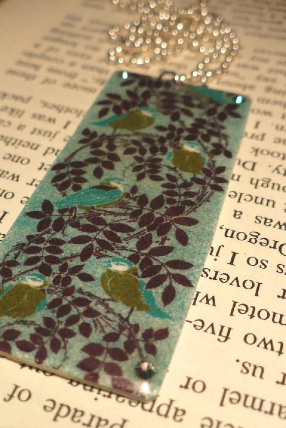 Sweet Bluebirds Necklace