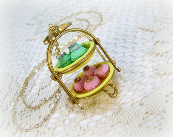Miniature French Macaroon Necklace - CuteAbility
