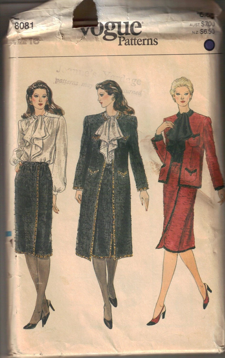 Chanel Inspired Suit Patterns