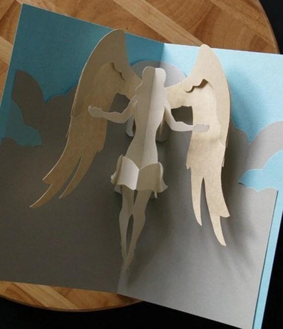 Kirigami Virgo Angel Pop Up Card Make Yourself
