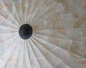 OOAK . Papier-mâché Theme Parasol . Book Pages . Walden by Henry David Thoreau - ARTintersect