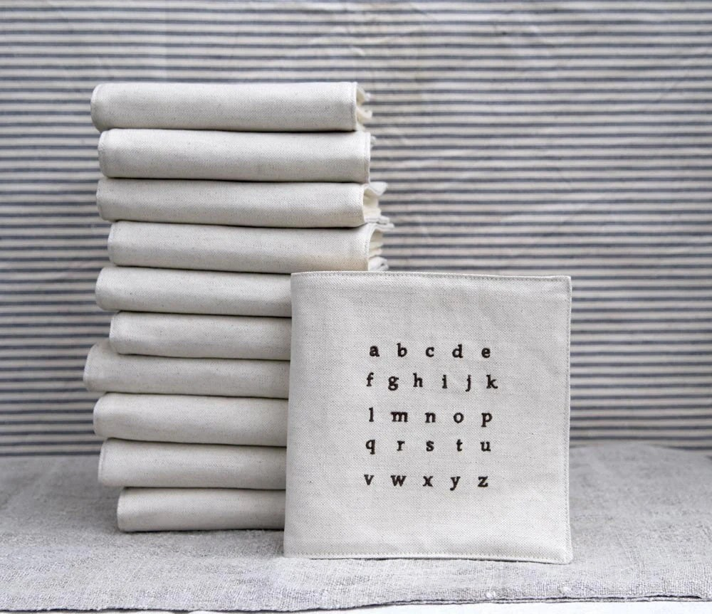 fabric alphabet book