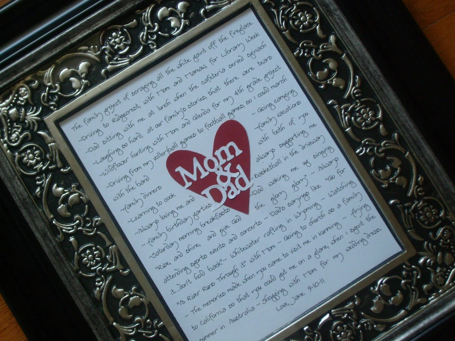 Wedding Gifts For Parents Mother Of Bride Father Of Bride
