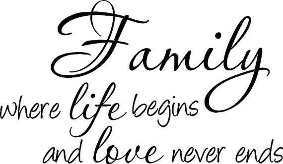Download Items similar to Large FAMILY were life begins and LOVE ...