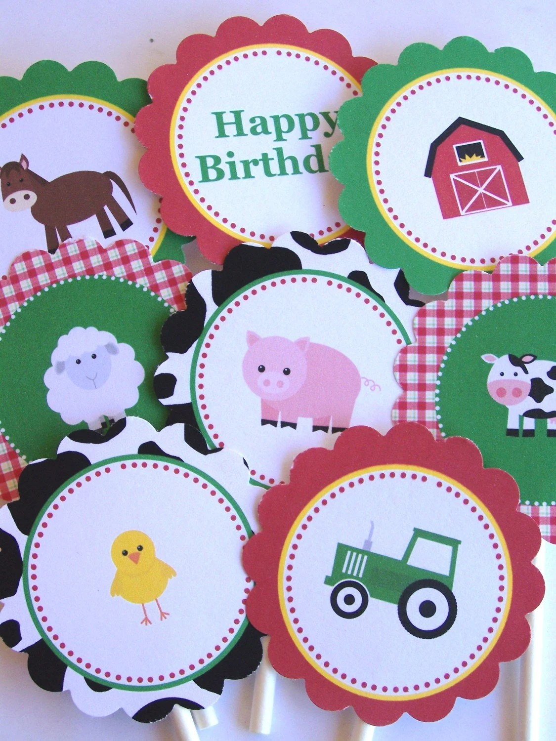 Farm Party Printables Farm Friends Collection Printable