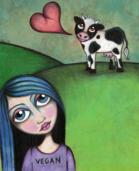 Vegan Girl 2012 - 8x10 SIgned Print