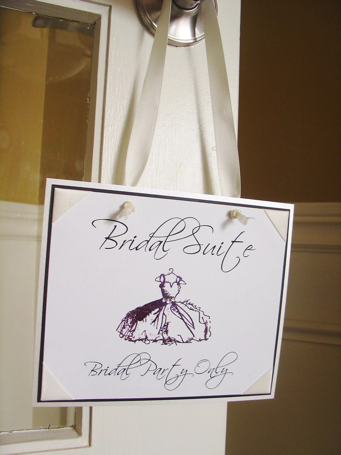 Items Similar To Bridal Suite Sign OR Grooms Suite With