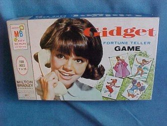 Vintage Mod 60s Gidget Fortune Teller Card Game Sally Field