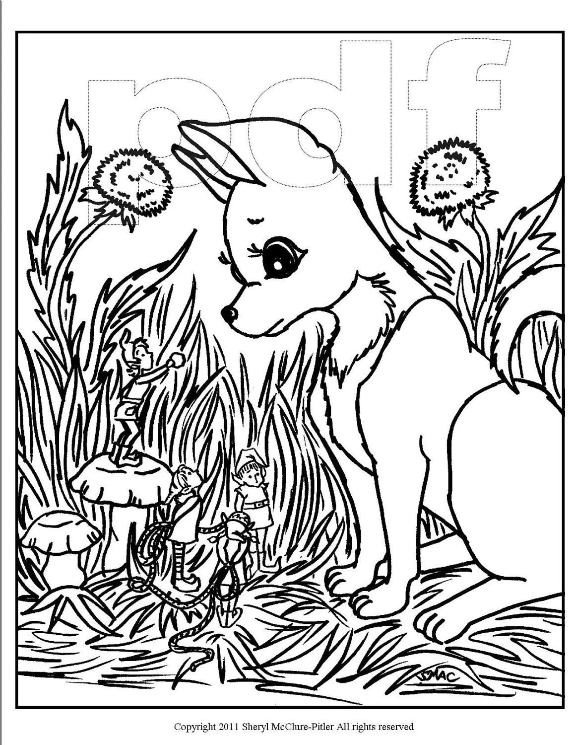 items similar to fantasy coloring page printable intricate