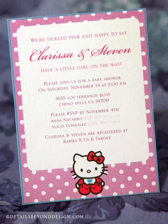 Hello kitty wedding invitations. invitations wedding invitations ...