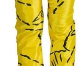 Kids Leggings Printed Superhero Yellow and Black Bright - mashnewyork