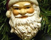 Ceramic Ornament - Good Ole Santa Claus - GrapeVineCeramicsGft