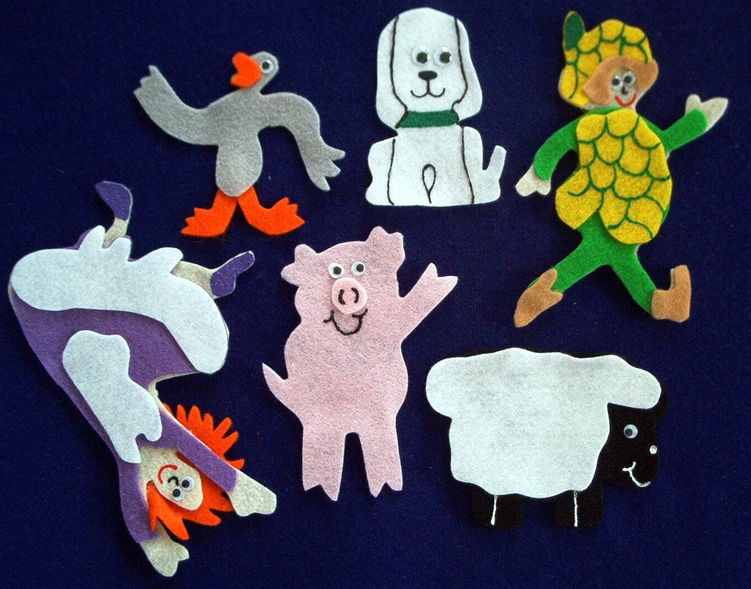 Silly Sally Flannel Board Felt Story Set And Bonus Felt