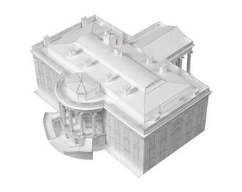 White House Paper Model (KIT)
