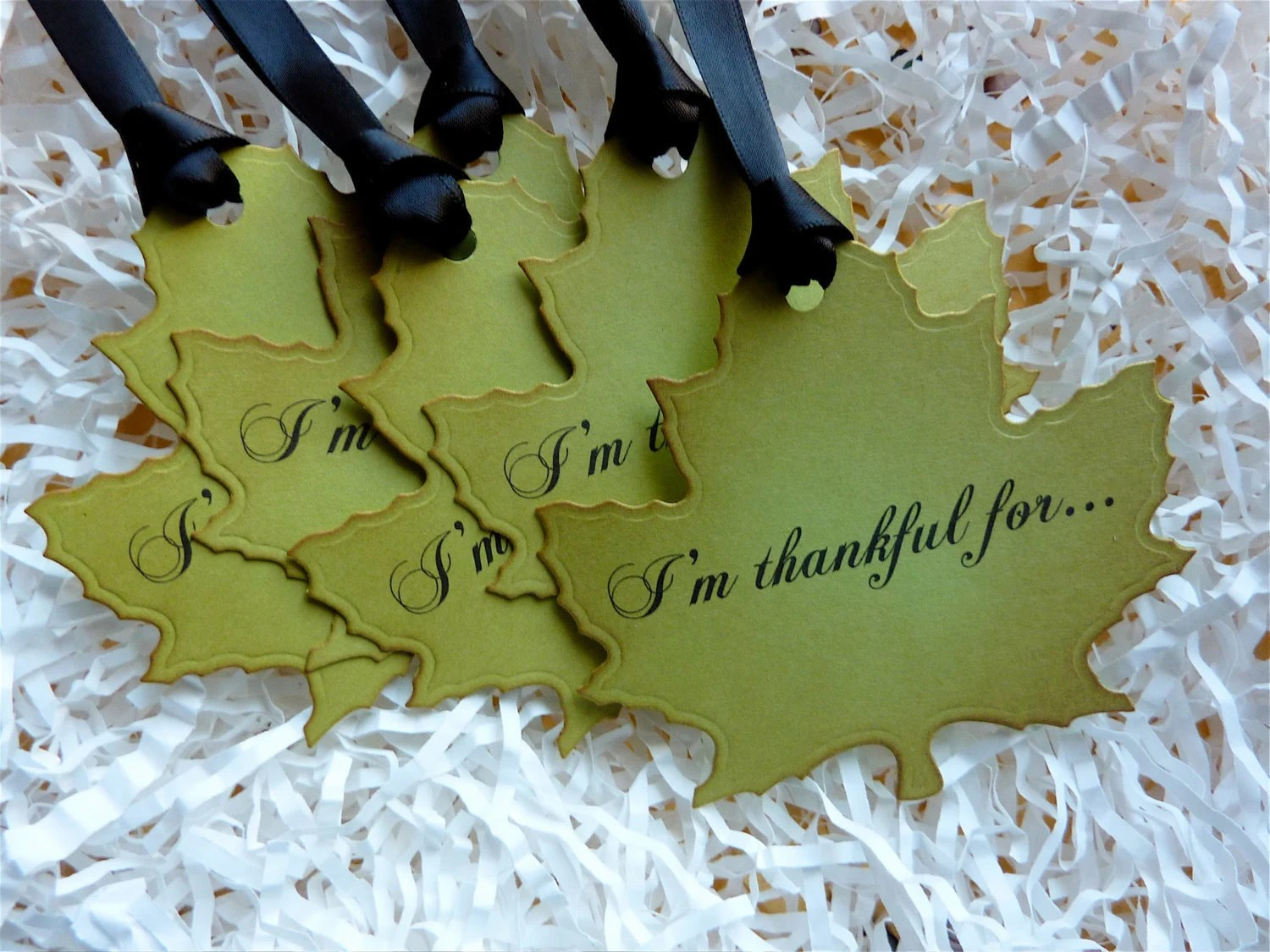 I M Thankful For Holiday Luxury Maple Leaf By Ifiwerecards