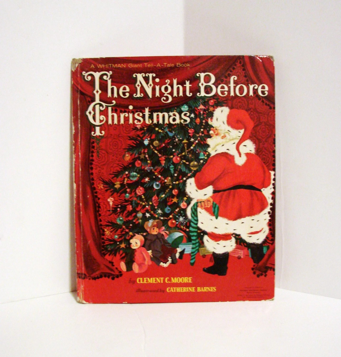 Vintage The Night Before Christmas By Clement C Moore