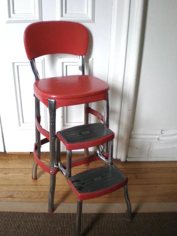 Incredible Kitchen Chair Step Stool Red Vintage Stool Step Stool Spiritservingveterans Wood Chair Design Ideas Spiritservingveteransorg