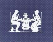 Thanksgiving - Papercutting- Scherenschnitte - heritagegeneralstore