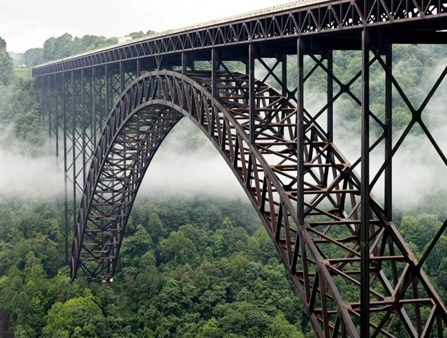 New River Gorge Bridge, West Virginia - 11x14 inch Photographic Print by Brendan Reals - BrendanReals