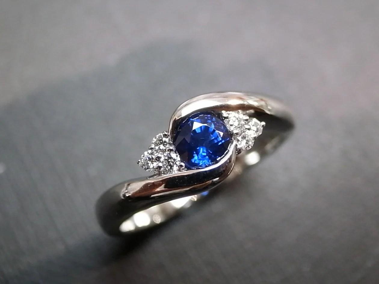 Blue Sapphire Rings Diamond Rings Engagement Rings Wedding