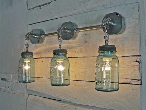 mason jar light etsy