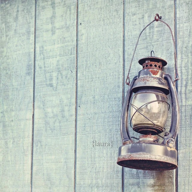 Vintage Lantern - Rustic Cottage - Shabby Chic - Home Decor - Baby Nursery - Nautical Decor - Fine Art Photograph - DreamyPhoto