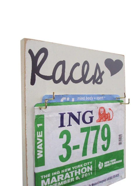 A Race Bibs Holder that adds Style to your running Bibs - runningonthewall