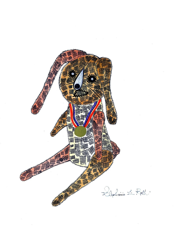Olympics Gold Medal Rabbit