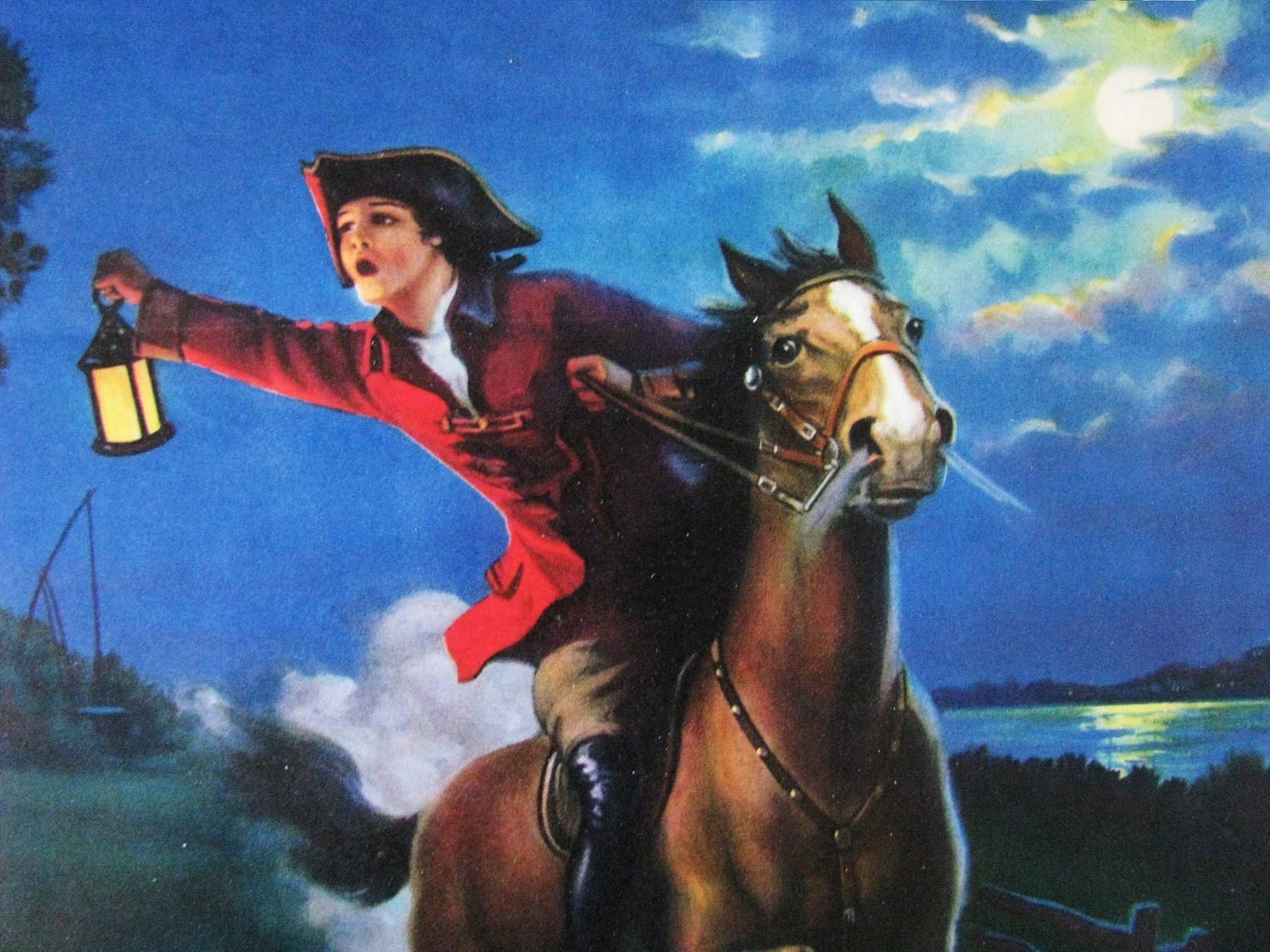 The Midnight Ride Of Paul Revere Eggleston By Redfordretro