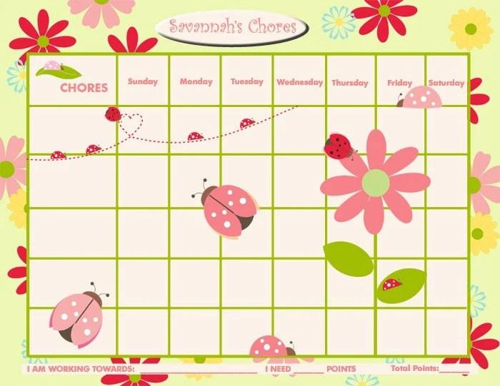 Reward Chart Template Printable. new calendar site. reward chart ...