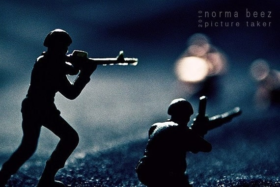 Moonlight Fight - Army Men Series