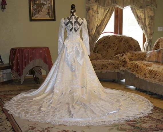Lace Wedding Dress Ball Gown Wedding Dress By Trendydeals